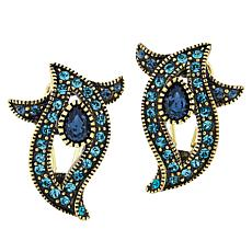 "Heidi Daus ""Alluring Accent"" Crystal Earrings"