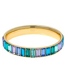Heidi Daus Beautiful Baguette Bangle Bracelet