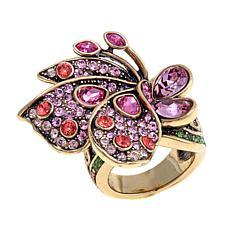 "Heidi Daus ""Beautiful Butterfly"" Crystal Ring"