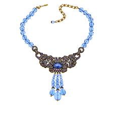 "Heidi Daus ""Brilliant Beauty"" Beaded Crystal Drop Necklace"