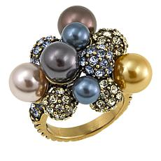 "Heidi Daus ""Captivating Cluster"" Crystal-Accented Ring"