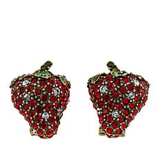 "Heidi Daus ""Captivating Compote"" Crystal Earrings"