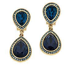 "Heidi Daus ""Cat's Pajamas"" Crystal Drop Earrings"