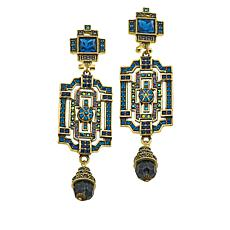 "Heidi Daus ""Classic Edition"" Crystal Drop Earrings"