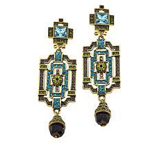 "Heidi Daus ""Classic Edition"" Crystal Drop Earrings"