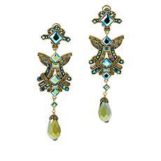 "Heidi Daus ""Confetti"" Crystal Dangle Earrings"