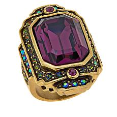 "Heidi Daus ""Crystal Hue Persuasion"" Crystal Ring"