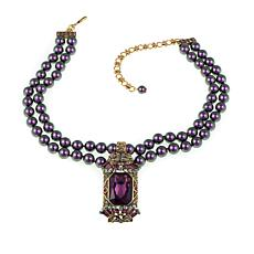"Heidi Daus ""Crystal Hue Persuasion"" Drop Necklace"