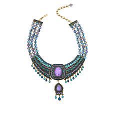 "Heidi Daus ""Crystal Magnetism"" Beaded Collar Necklace"