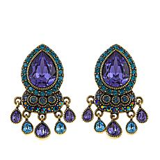 "Heidi Daus ""Crystal Magnetism"" Crystal Drop Earrings"