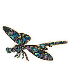 """Heidi Daus """"Darn Pretty"""" Crystal-Accented Dragonfly Pin"""