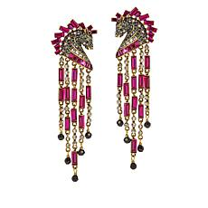 "Heidi Daus ""Decorative Dressage"" Crystal Drop Earrings"