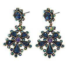 "Heidi Daus ""Delicate Delight"" Crystal Drop Earrings"