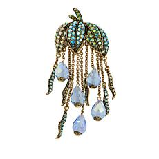 "Heidi Daus ""Dew Drop"" Crystal Pin"