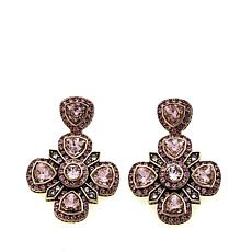 "Heidi Daus ""Elegant Affair"" Crystal Drop Earrings"