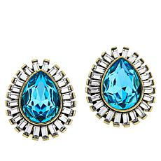 "Heidi Daus ""Enchante"" Button Earrings"