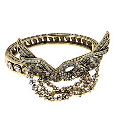 "Heidi Daus ""Enchanté"" Crystal Bangle Bracelet"