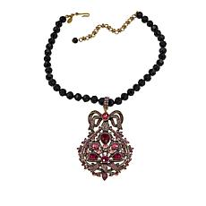 "Heidi Daus ""Epoque Beauty"" Enhancer Pendant with 16-1/4"" Necklace"