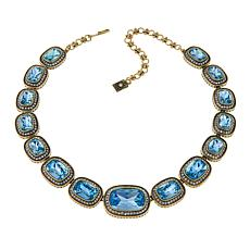 "Heidi Daus ""Exquisite Elegance"" Crystal Necklace"