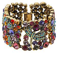 """Heidi Daus """"Fantasy in Flight"""" Crystal Dragonfly Bracelet"""