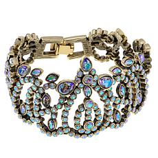 "Heidi Daus ""Feast Your Eyes"" Crystal Link Bracelet"