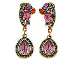 "Heidi Daus ""Femmeistia"" Crystal-Accented Drop Earrings"