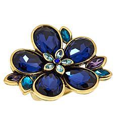 "Heidi Daus ""Flower Show"" Crystal Ring"