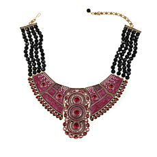 "Heidi Daus ""Globally Glamorous"" Collar Necklace"