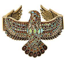 "Heidi Daus ""Goddess of the Sky"" Crystal Hinged Bracelet"