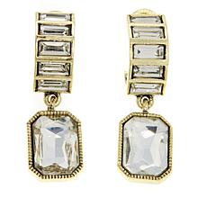 "Heidi Daus ""Ice Breaker"" Crystal Drop Earrings"