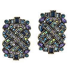 "Heidi Daus ""In Good Fortune"" Crystal Earrings"