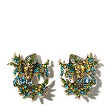 "Heidi Daus ""In the Swim"" Crystal Earrings"