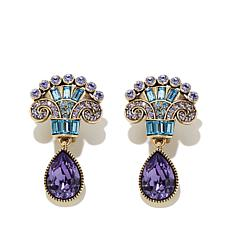 "Heidi Daus ""Invitation Only"" Crystal Drop Earrings"