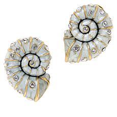 """Heidi Daus """"Island Elegance"""" Crystal-Accented Earrings"""
