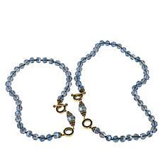 "Heidi Daus ""Let Me Count the Ways"" Convertible 2-Piece Necklace"