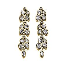 "Heidi Daus ""Marquise Magic"" Crystal Drop Earrings"