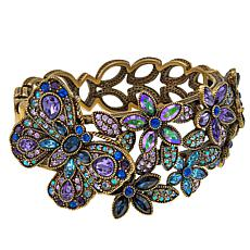 "Heidi Daus ""Painted Princess"" Crystal-Accented Cuff Bracelet"