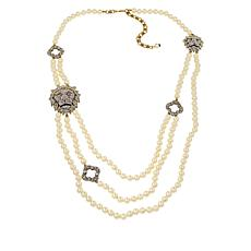 "Heidi Daus ""Radiant Roar"" Multi-Strand Beaded Necklace"