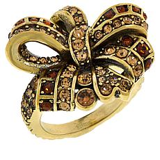 "Heidi Daus ""Ravishing Ribbon"" Crystal Ring"
