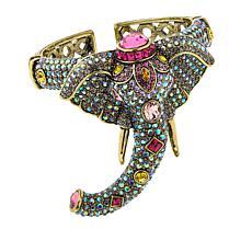 """Heidi Daus """"Ravishing Wrap-Sure"""" Crystal Cuff Bracelet"""