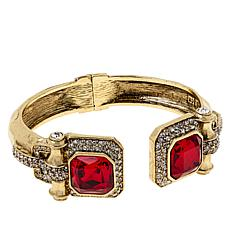 "Heidi Daus ""Simply Sensational"" Crystal Cuff Bracelet"