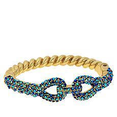 """Heidi Daus """"Sleek and Sophisticated"""" Crystal Bracelet"""