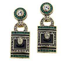 "Heidi Daus ""Sleek and Sophisticated"" Drop Earrings"