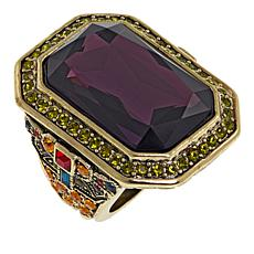 "Heidi Daus ""The Deco Trilogy"" Large Stone Ring"