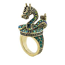 "Heidi Daus ""The Dragon"" Crystal Ring"