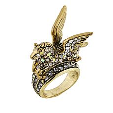 "Heidi Daus ""The Pegasus"" Crystal Ring"