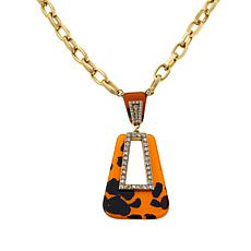 """Heidi Daus """"To the Hamptons with Love"""" Drop Necklace"""
