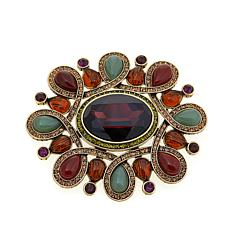"Heidi Daus ""Unmistakable Panache"" Crystal Pin"
