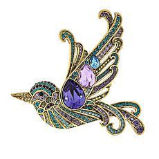 "Heidi Daus ""Wingin' It"" Crystal Bird Pin"