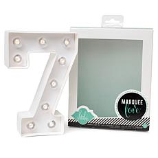 Heidi Swapp Marquee Love Light - Number 7